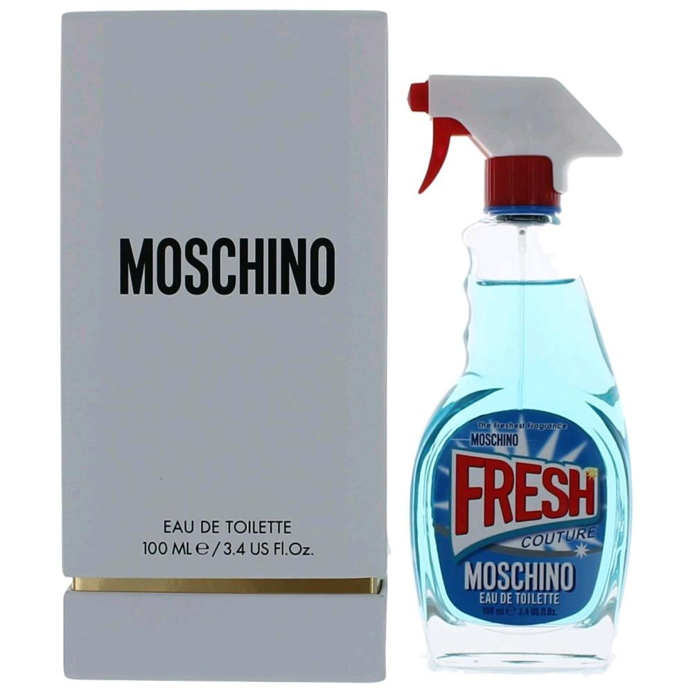 9c9b5cebeb Moschino Fresh Couture by Moschino, 3.4 oz Eau De Toilette Spray for Women