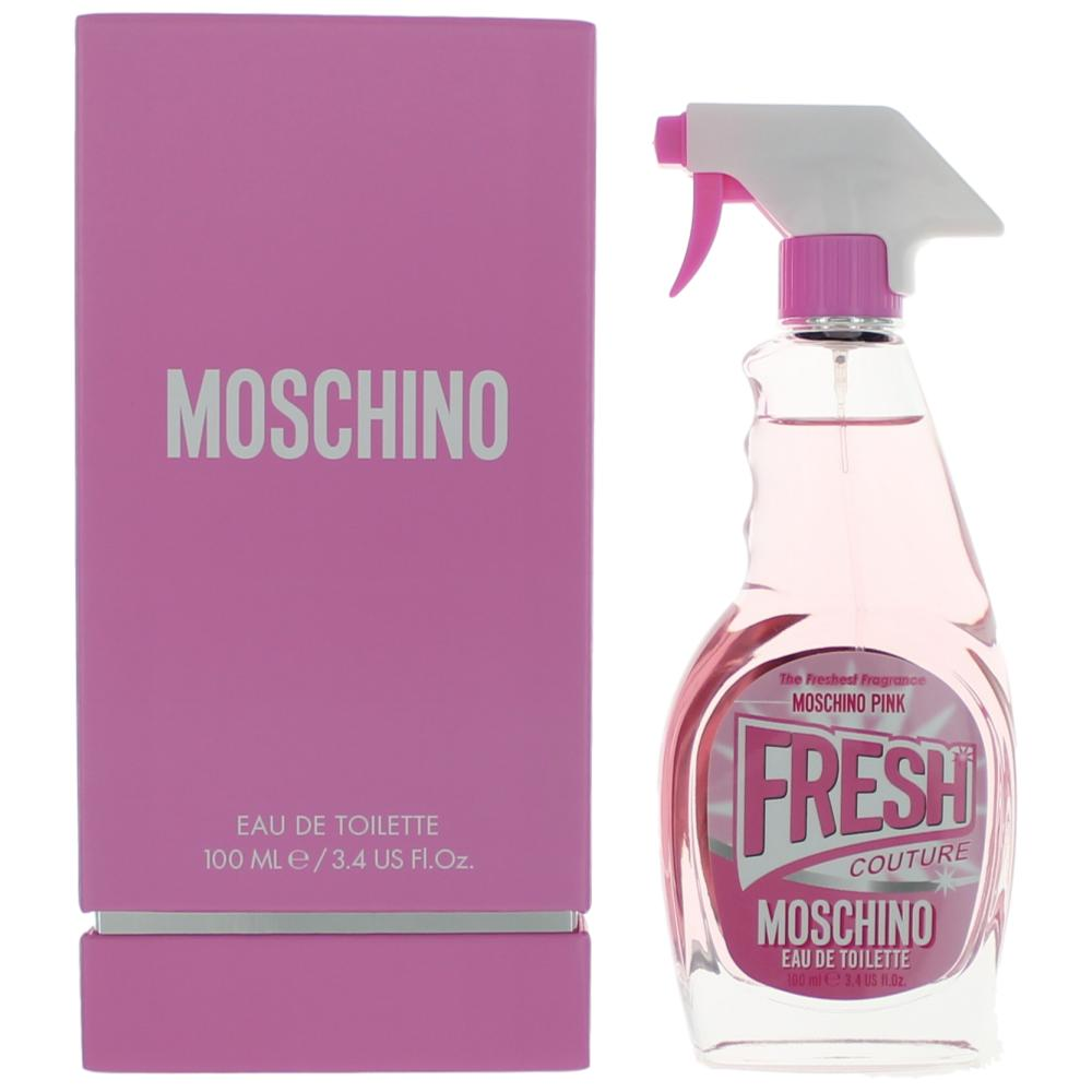 Moschino Pink Fresh Couture by Moschino, 3.4 oz EDT Spray for Women