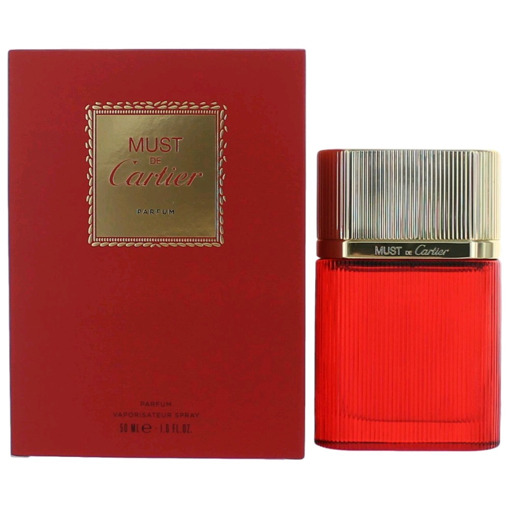 Must De Cartier by Cartier, 1.6 oz Parfum Spray for Women