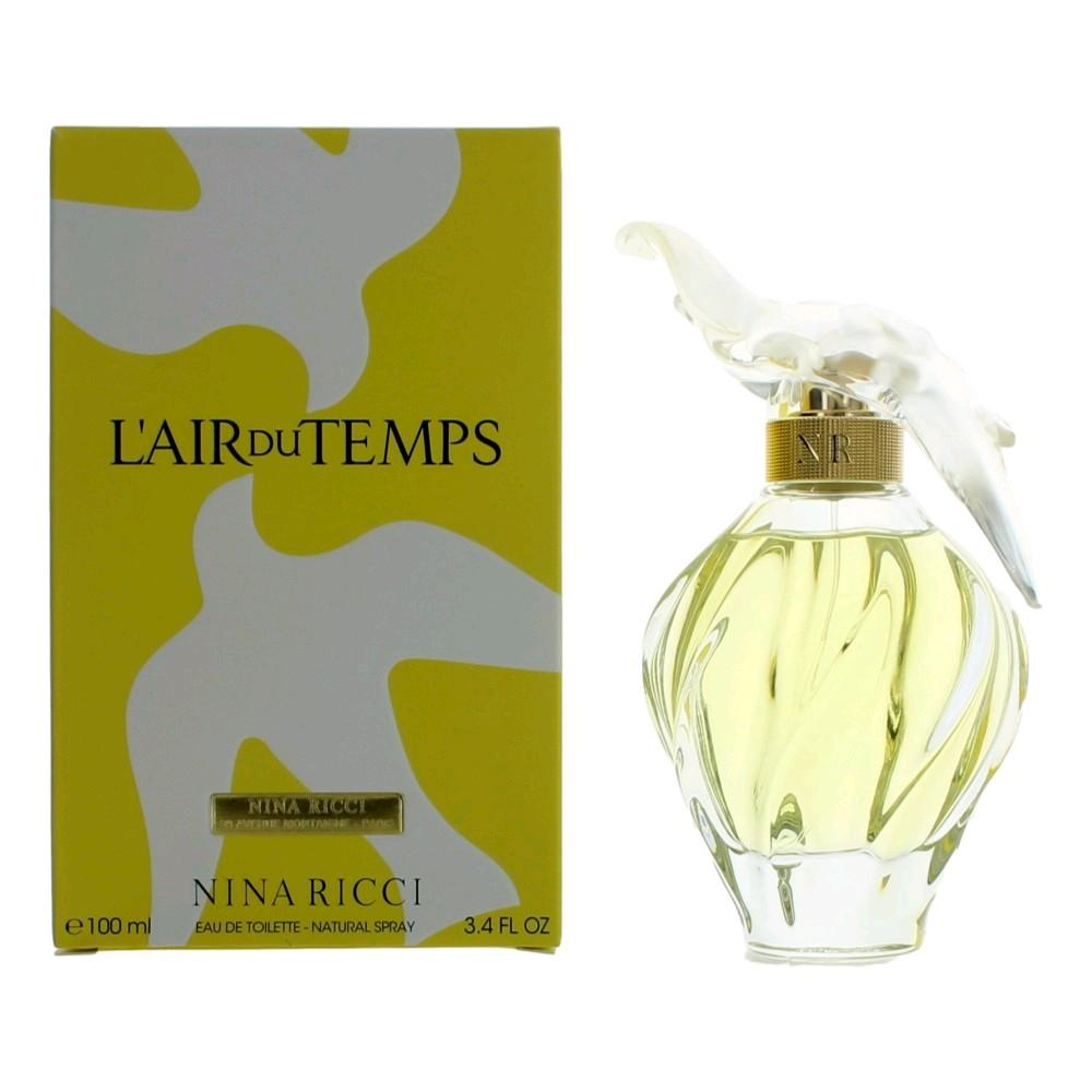 L'air Du Temps By Nina Ricci, 3.4 Oz Edt Spray For Women