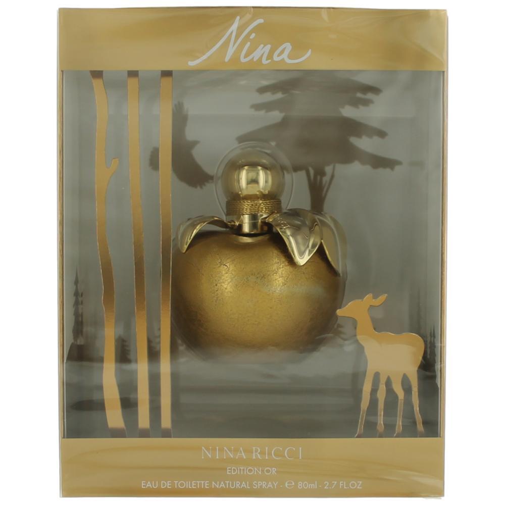 Nina Edition Or By Nina Ricci, 2.7 Oz Edt Spray For Women