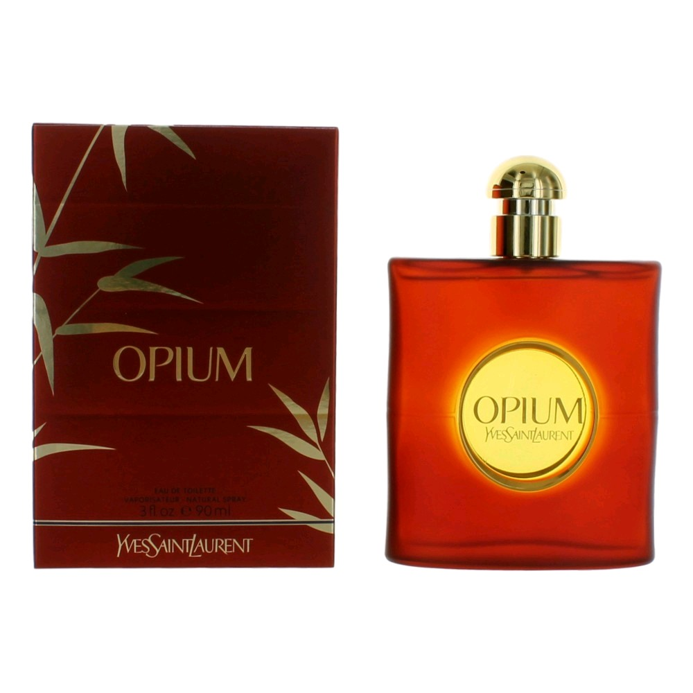 Opium by Yves Saint Laurent, 3 oz Eau De Toilette
