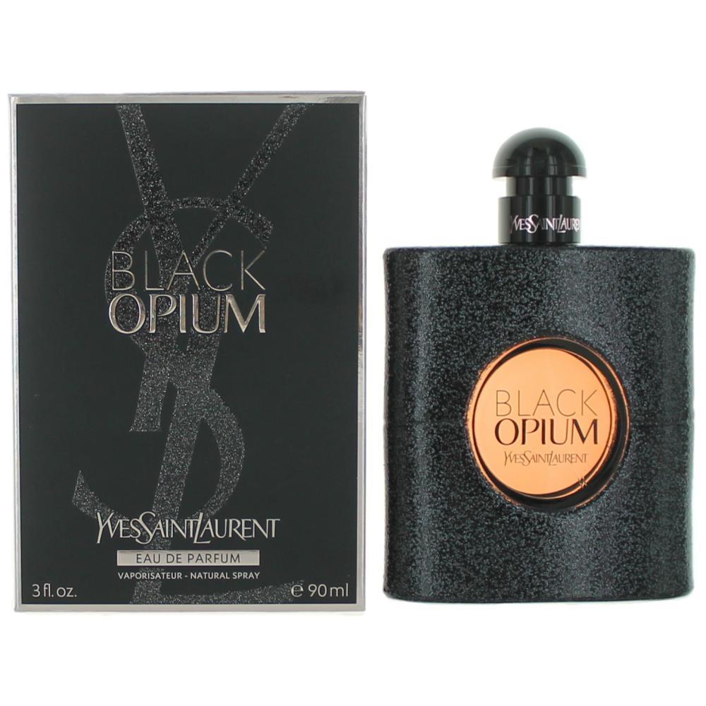 Black Opium by Yves Saint Laurent, 3 oz EDP Spray for Women