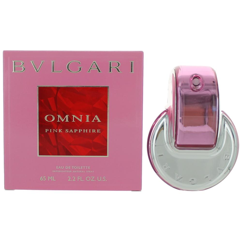 Omnia Pink Sapphire by Bvlgari, 2.2 oz EDT Spray for Women