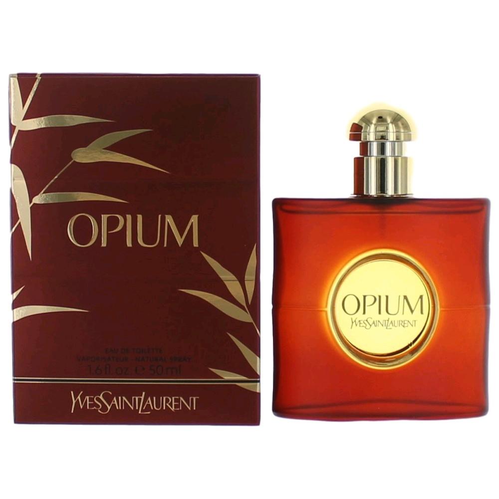 Opium by Yves Saint Laurent, 1.6 oz EDT Spray for Women