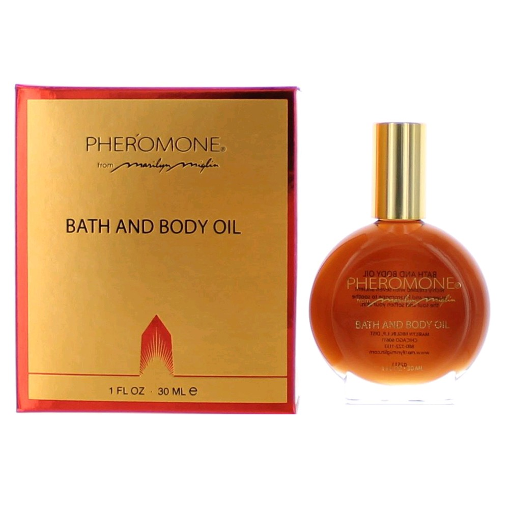 Pheromone by Marilyn Miglin, 1 oz Bath & Body Oil for Women