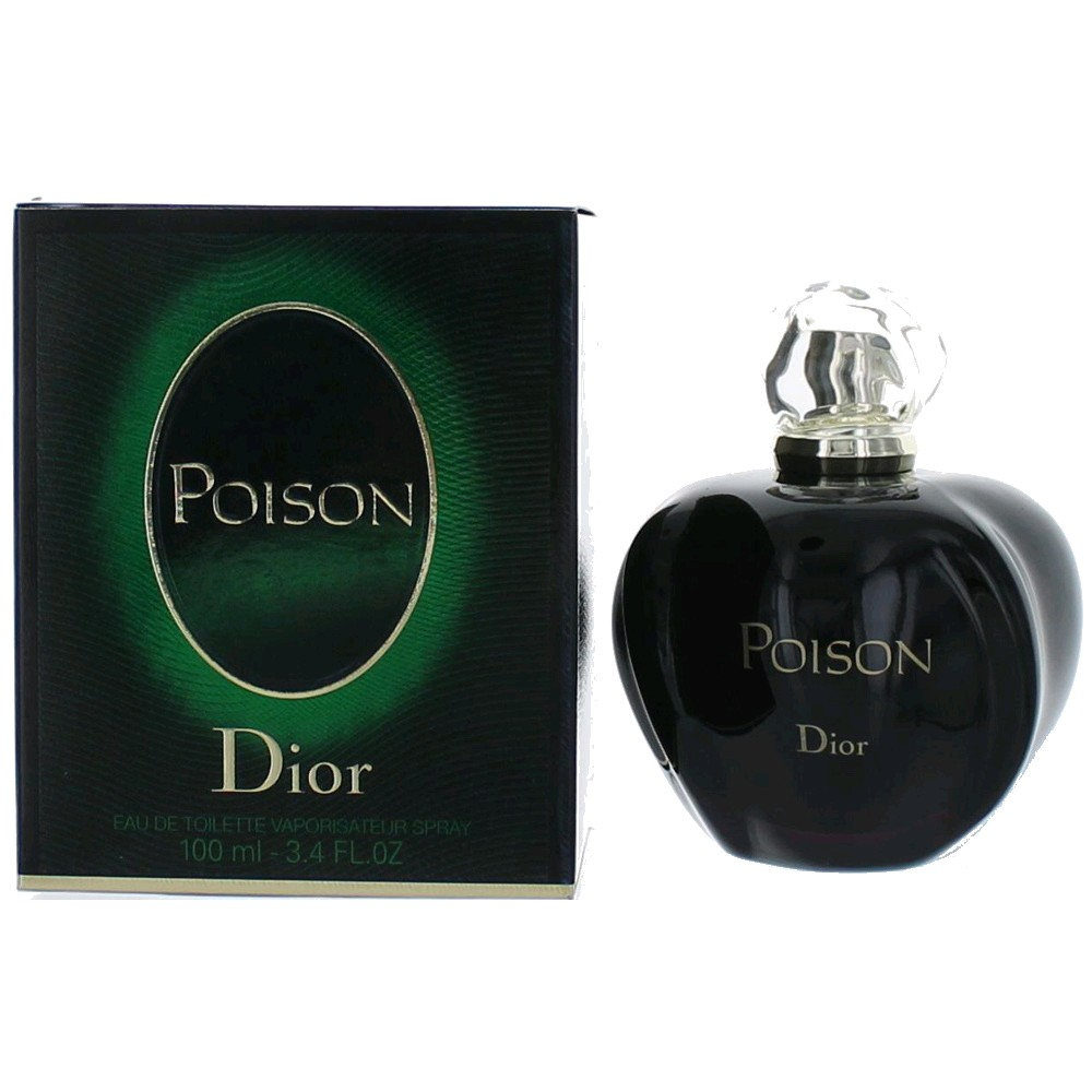 Poison by Christian Dior, 3.4 oz EDT Spray for Women