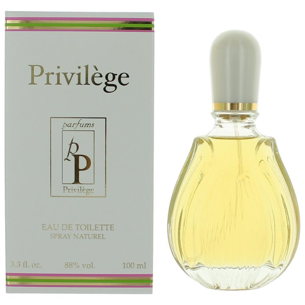 Privilege by Parfums Privilege, 3.3 oz Eau De Toilette Spray for Women