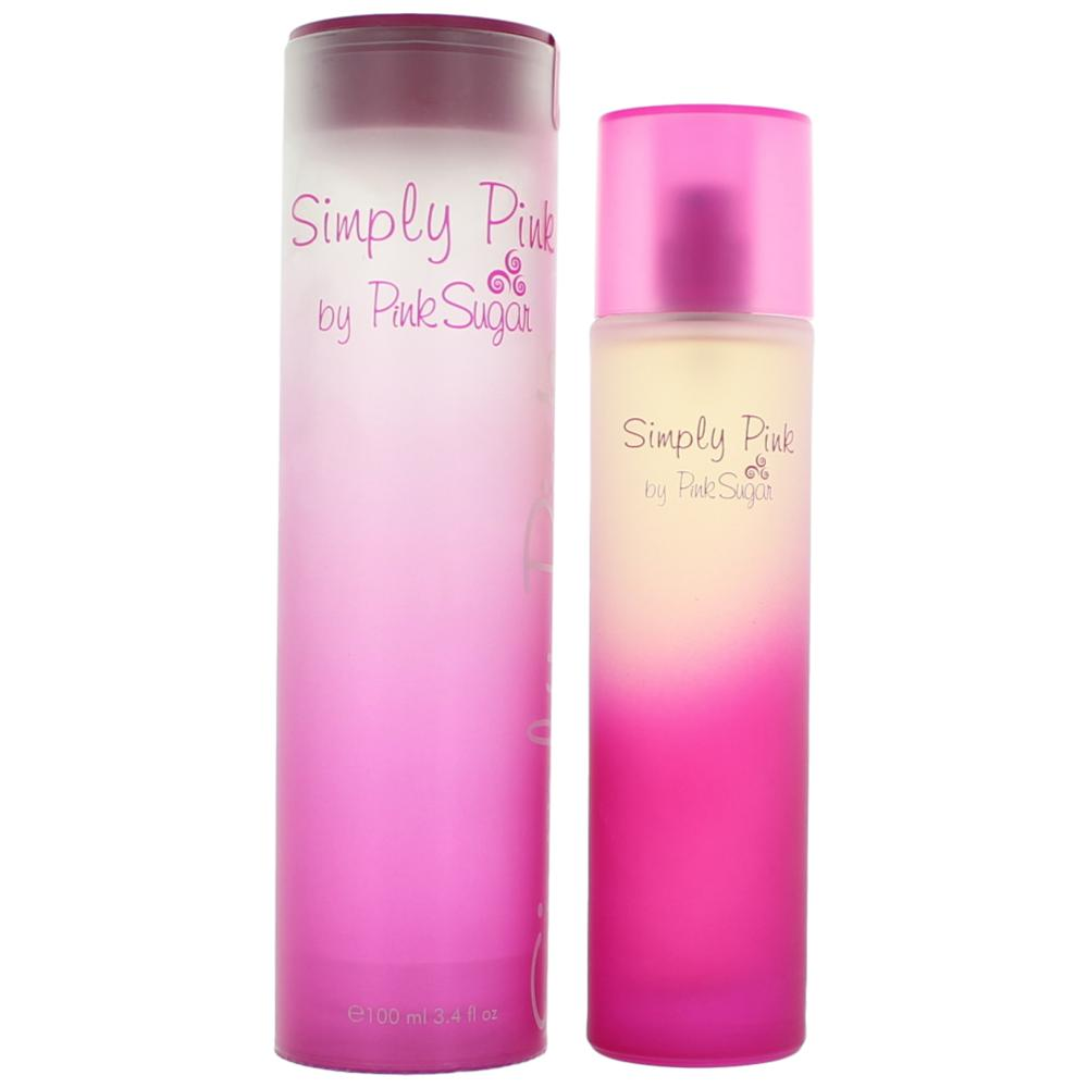Simply Pink By Pink Sugar, 3.4 Oz Edt Spray For Women