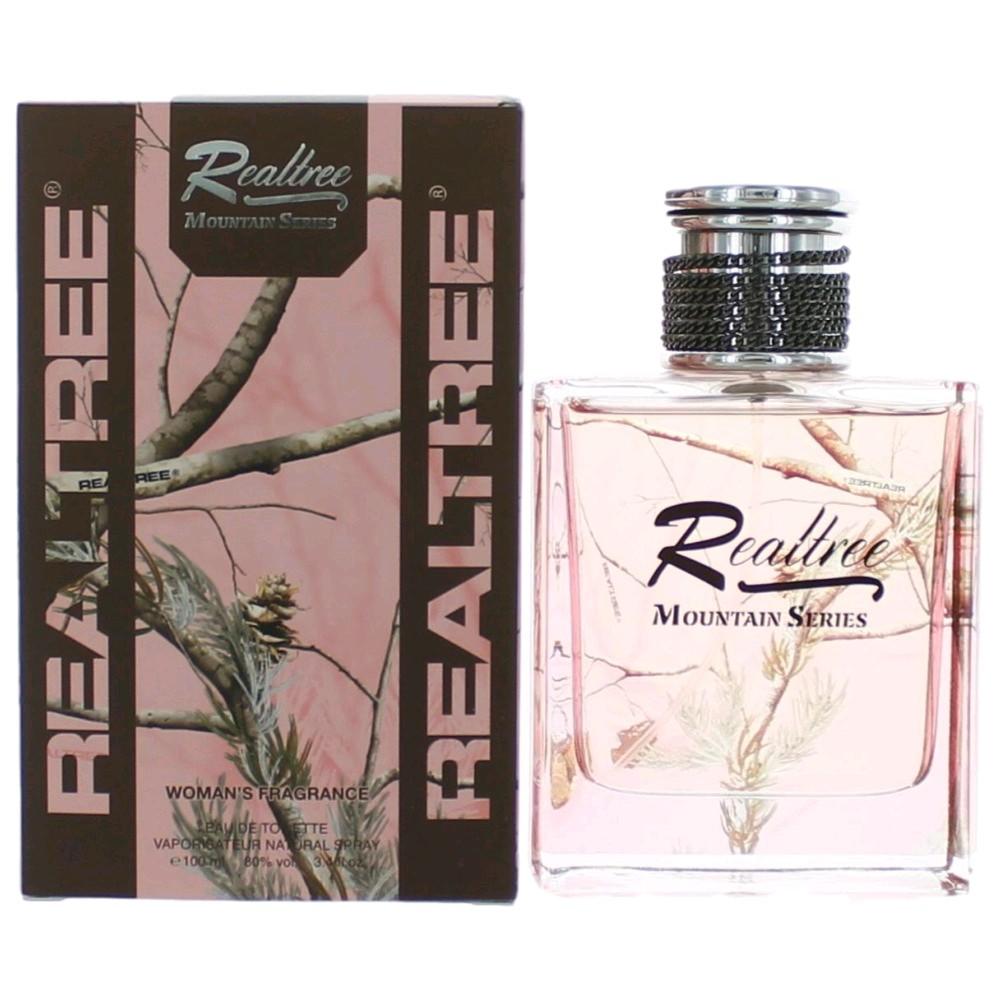 Realtree Mountain Series by Realtree, 3.4 oz Eau De Toilette Spray for Women