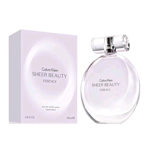 Sheer Beauty Essence by Calvin Klein, 3.4 oz EDT Spray for Women