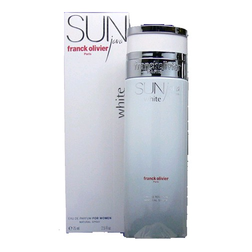 Sun Java White by Franck Olivier, 2.5 oz Eau De Parfum Spray for Women