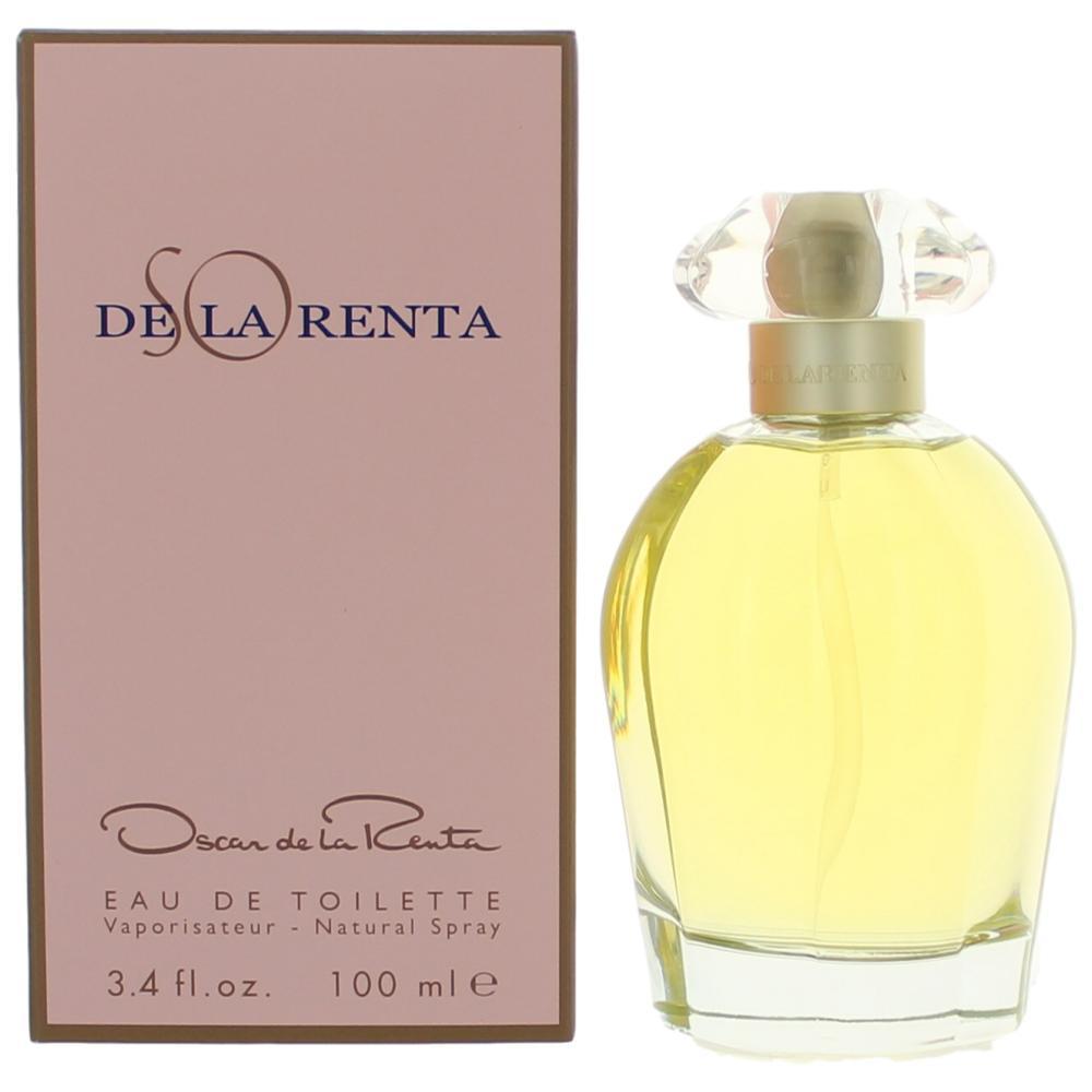So De La Renta by Oscar De La Renta, 3.3 oz EDT Spray for Women