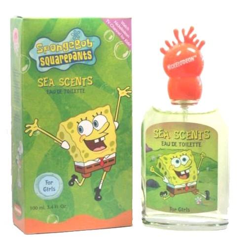 Sponge Bob by Nickelodeon, 3.4 oz Eau De Toilette Spray for girls.