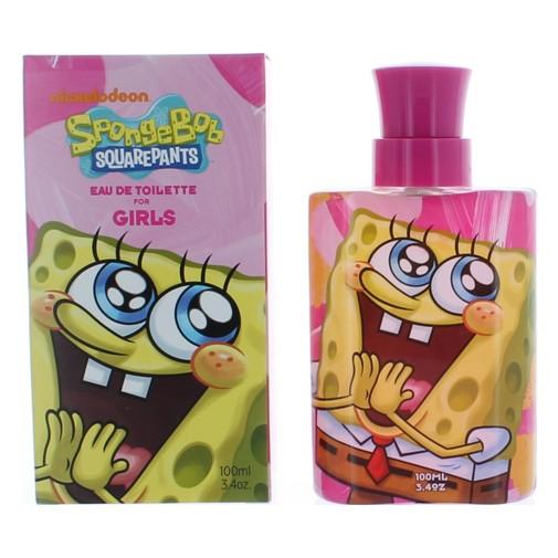 SpongeBob by Nickelodeon, 3.4 oz Eau De Toilette Spray for Girls (Pink)