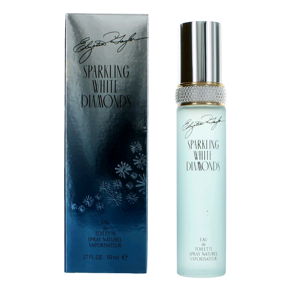 Sparkling White Diamonds by Elizabeth Taylor, 1.7 oz Eau De Toilette Spray for women