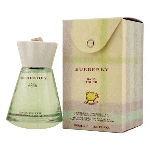 Touch Baby by Burberry, 3.3 oz Hypoallergenic EDT Spray Alcohol Free