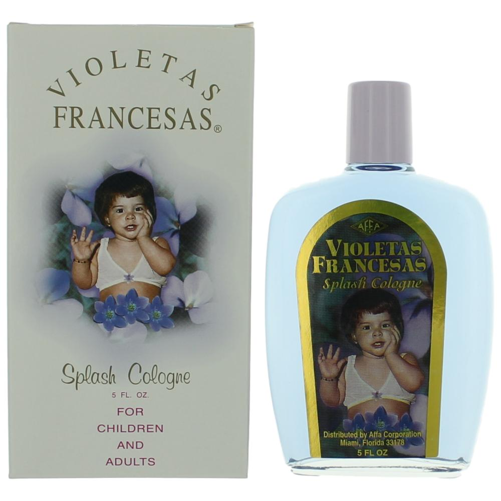 Violetas Francesas by Affa, 5 oz Splash Cologne For Children and Adults
