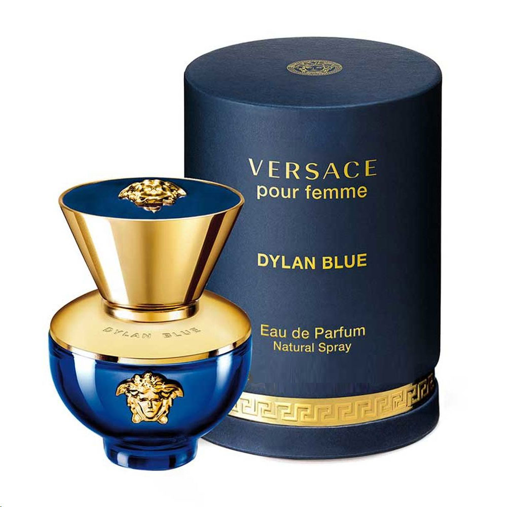 Versace Dylan Blue Pour Femme by Versace, 3.4 oz EDP Spray for Women