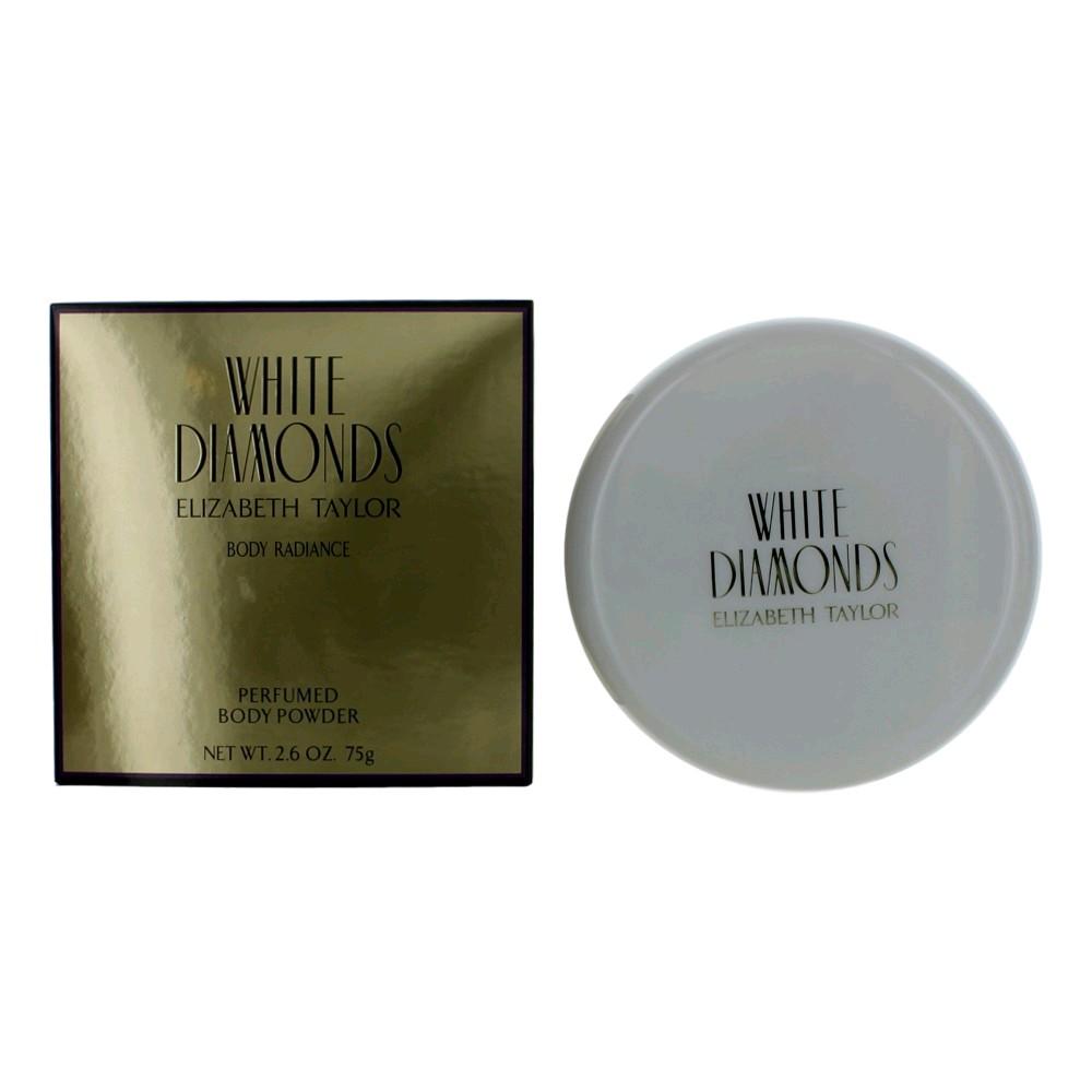 White Diamonds by Elizabeth Taylor, 2.6 oz Perfumed Body Powder for Women awwhd26dp