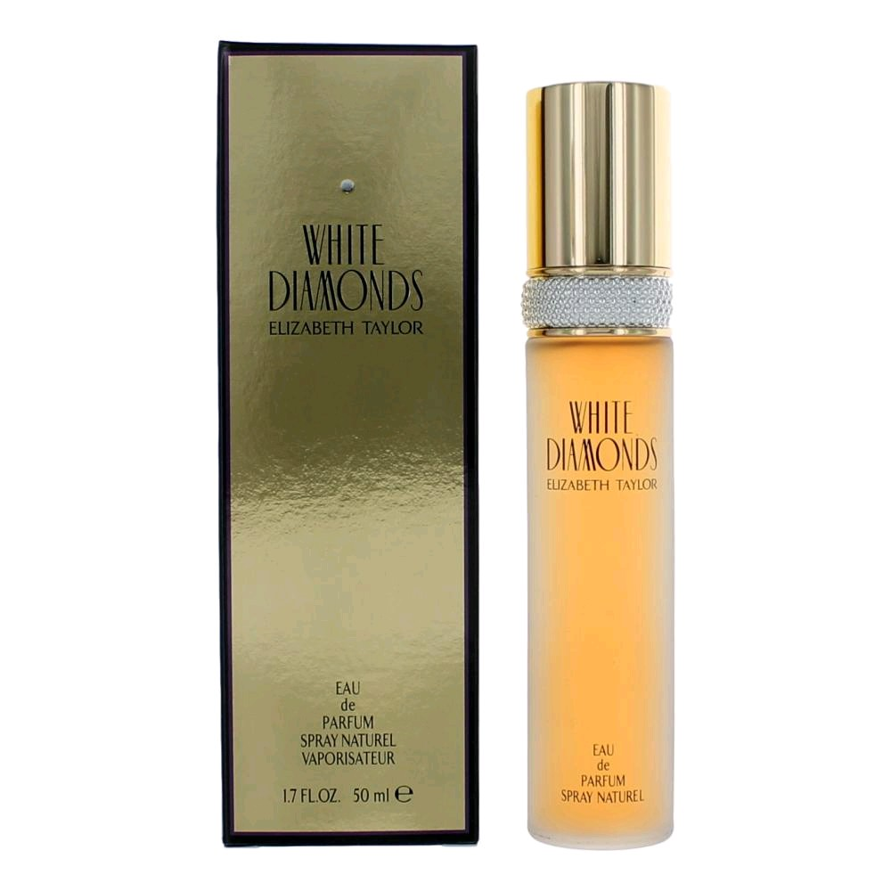 White Diamonds by Elizabeth Taylor, 1.7 oz Eau De Parfum Spray, For  women