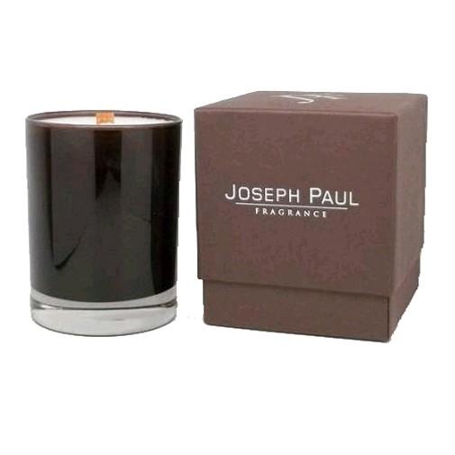 Joseph Paul Soy Candle 13 oz Brown & Amber Glass - Capri Luxury Soy Glass
