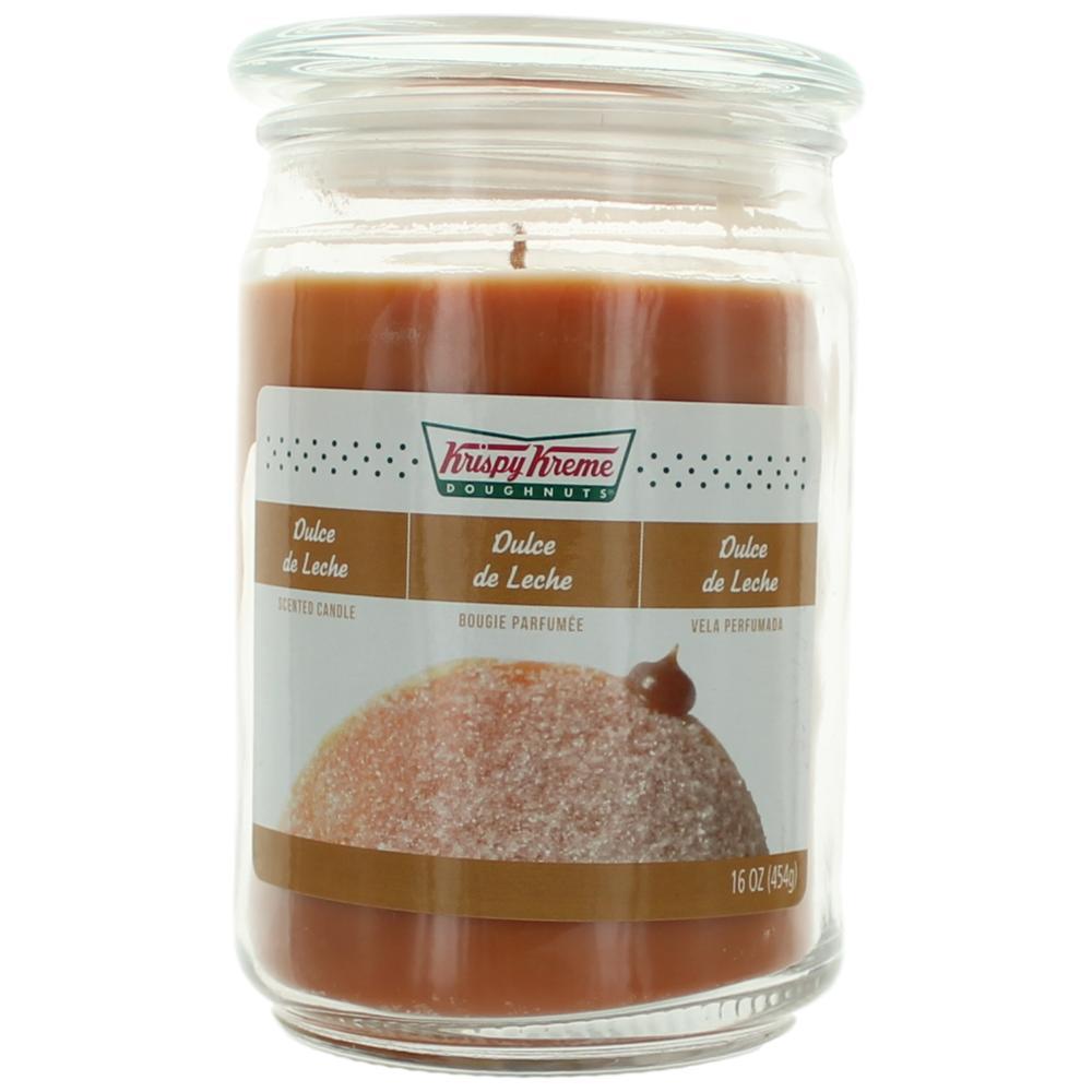 Krispy Kreme Scented Candle 16 oz Jar - Dulce de Leche