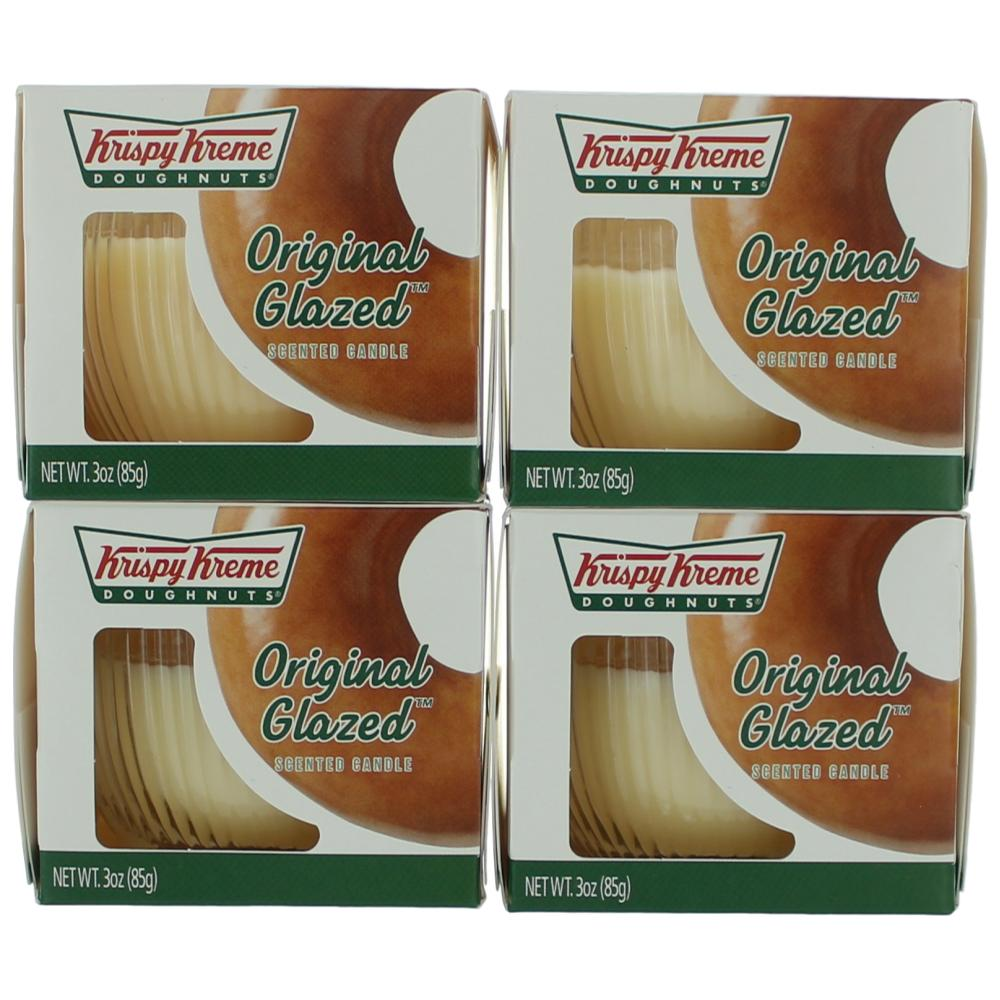 Krispy Kreme Scented Candle 4 Pack of