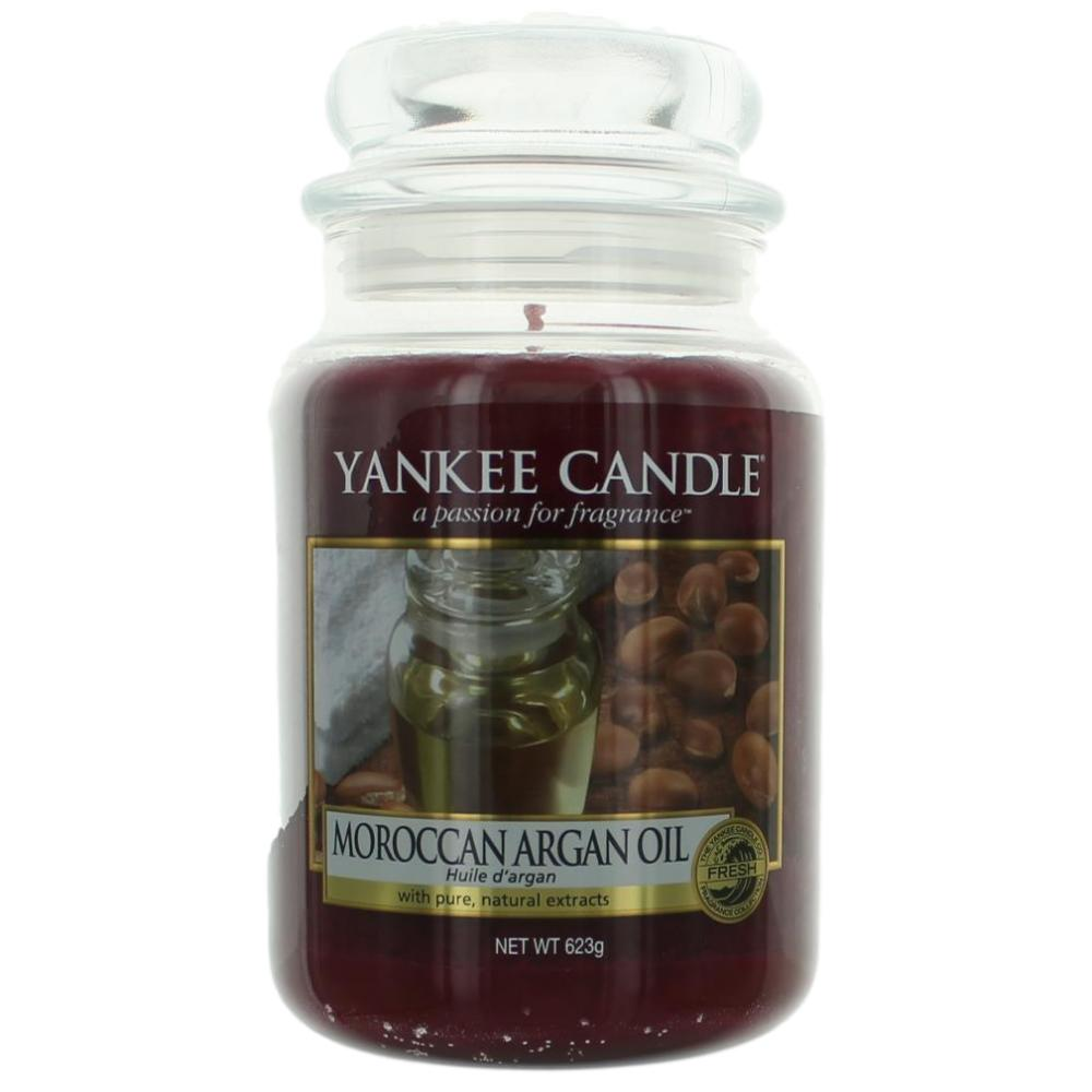 Yankee Candle Scented 22 oz Large Jar Candle - Moroccan Argan Oil
