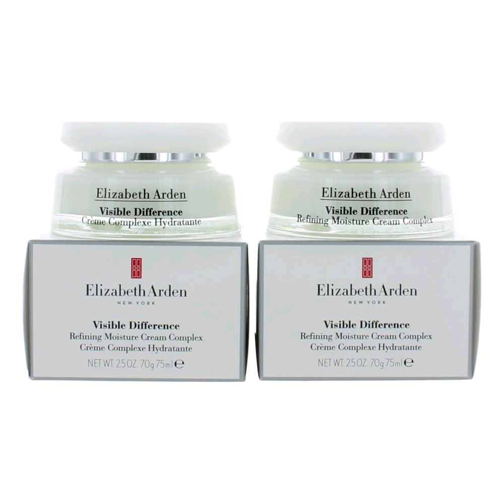 Elizabeth Arden by Elizabeth Arden, Visible Difference refining Mositure Cream Complex, 2.5 oz,  2 pack