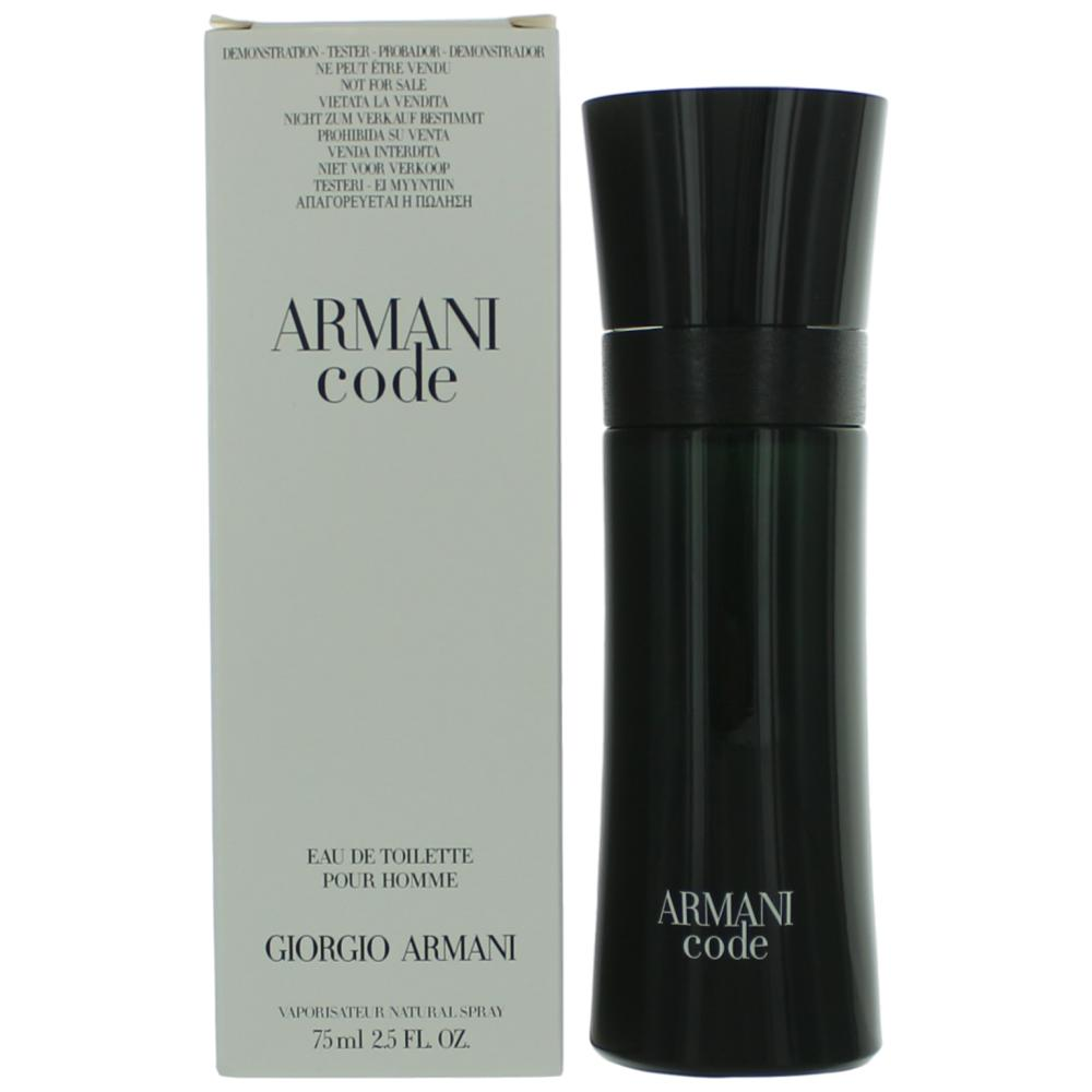 Armani Code by Giorgio Armani, 2.5 oz EDT Spray for Men Tester