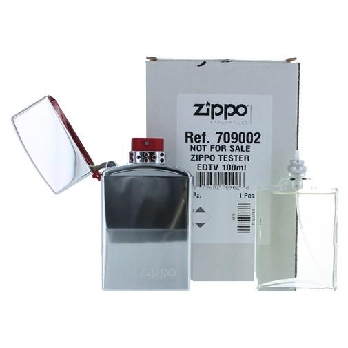 Zippo by Zippo 3.4 oz Eau De Toilette Spray for Men Refillable Tester