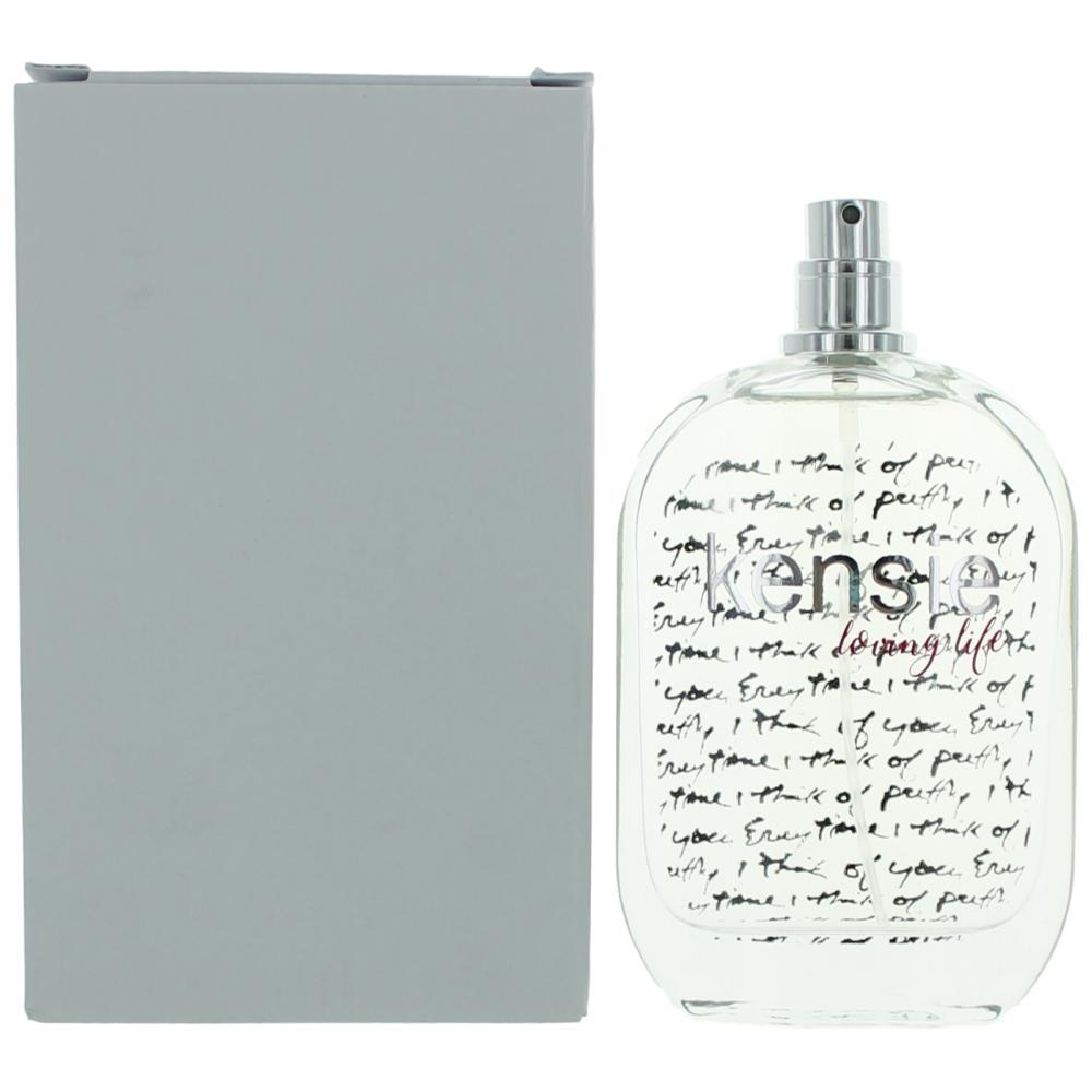 Kensie Loving Life by Kensie, 3.4 oz Eau De Parfum Spray for Women Tester